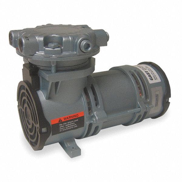 Gast 1 6 hp piston air compressor vacuum pump 115vac 100 for Gast air motor distributors