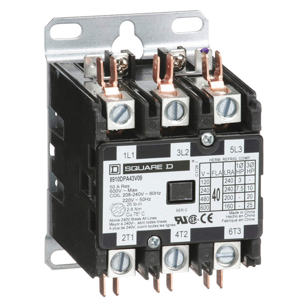 D87E8 Contactor Wiring 208 | Digital Resources on