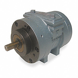 "0.8 Hub Mounted Air Motor with 1/2"" Shaft Dia. and 1/4"" NPT Port Size"