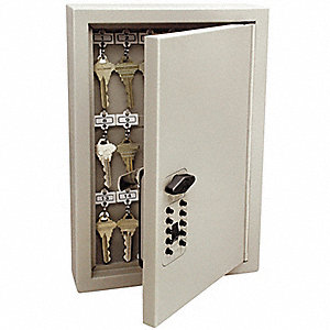 Key Control Cabinet, 30 Units