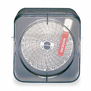 TEMP CHART RECORDER,3 IN