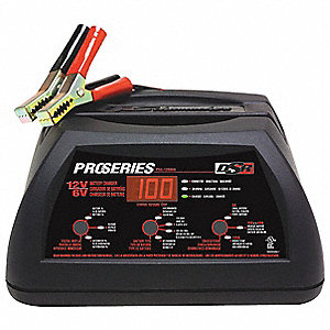 Battery Charger/Starter,40/2A,120VAC