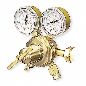 "TPR250-500-580 Series Gas Regulator, 500 psi, 2.500"", Inert"