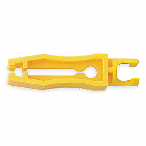 "5"" Insulated Nylon Fuse Puller, Yellow"