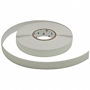 "Glow-in-the-Dark Anti Slip Marking Tape, Solid, Continuous Roll, 1"" Width, 1 EA"