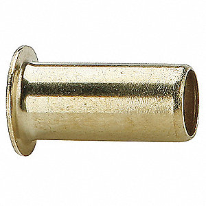 "Low Lead Brass Compression Tube Support, 3/8"" Tube Size"
