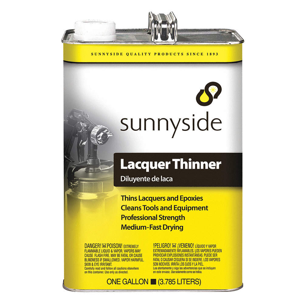 Lacquer Thinner, 1 gal , Brush, Roll, Cloth, VOC Content: 334g/L