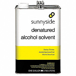 Denatured Alcohol Solvent,1 gal.