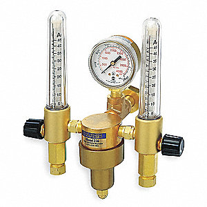 356 Series Flowmeter Regulator, 0 to 4000 psi, Argon, Helium