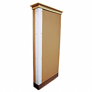 Corner Guard White 2x48 Hardware FR
