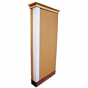 CORNER GUARD,WHITE,2X48IN,ADHESIVE