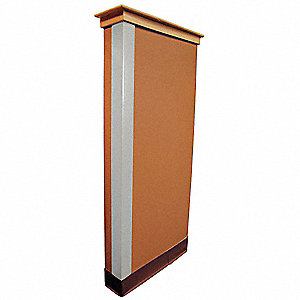 CORNER GUARD,SILVER,2X48IN,ADHESIVE