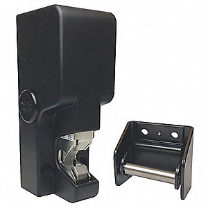 Gate Lock, Surface Mount, Opening Action Electromagnetic or Manual