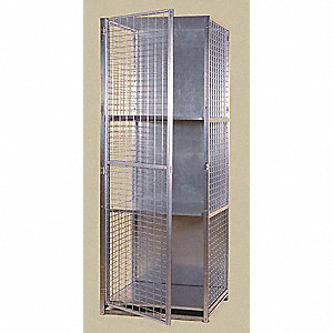Visibility Locker,Welded Wire Sides