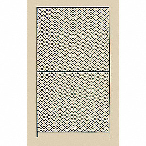 Panel, Material: Woven Wire, Overall Height: 12 ft., Overall Width: 1 ft.