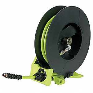 HOSE REEL,SPRING,3/8 IN X 50 FT,400