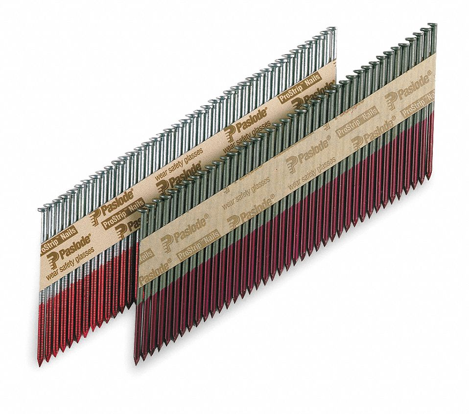 Framing Nails,  Roofing, Siding and Framing Nails,  2 3/8 in Length,  Low Carbon Steel