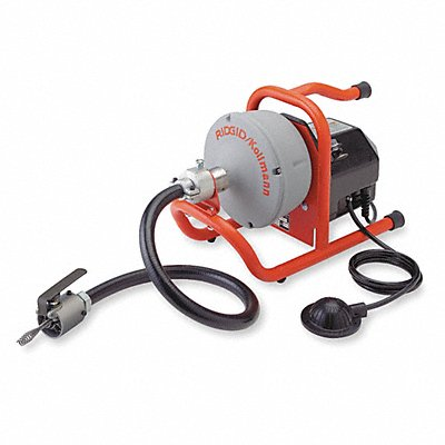5LC09 - Drain Cleaning Machine 5/16x35 1/8 HP