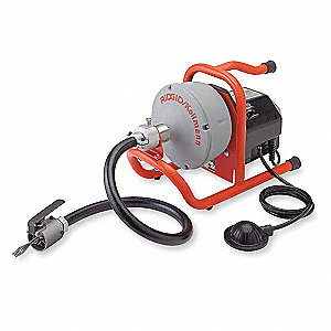 Drain Cleaning Machine,5/16x35, 1/8 HP