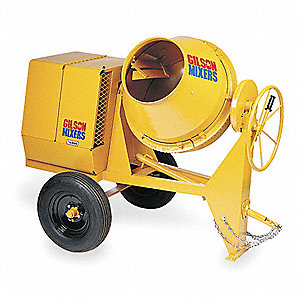 Gilson Concrete Mixer Parts Manual - Wiring Diagram •