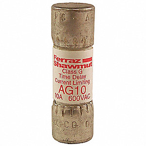 FUSE,AG,600VAC,10A,TIME DELAY
