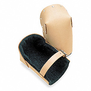 Non-marring 1-Strap Knee Pads, Tan