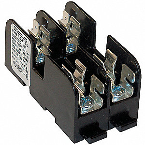 FUSE HOLDER,30A AC,600V,2 POLE,MOLD