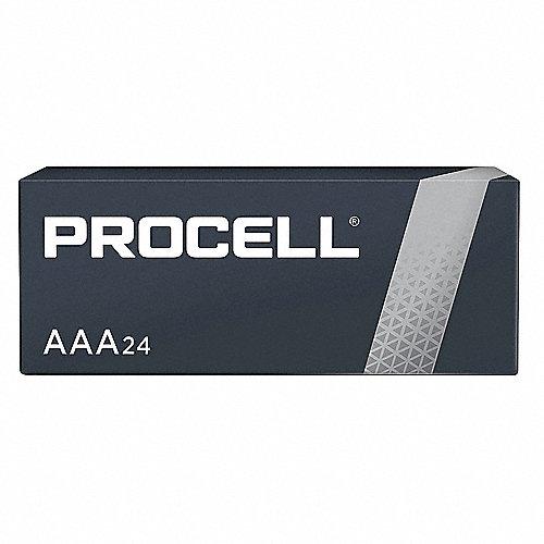 Batería AAA, Alcalina, Serie Procell, Baterías por Paquete 24
