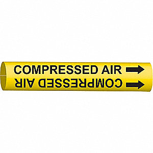 PIPEMARKER 41702 COMPRESSED AIR