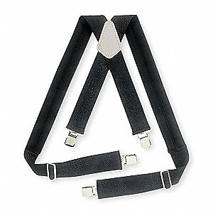 Suspenders,Black,Adjustable,Universal