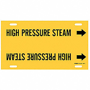 Pipe Markr,High Pressure Steam,10to15 In
