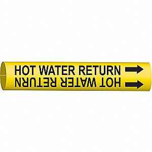PIPEMARKER HOT WATER RETURN