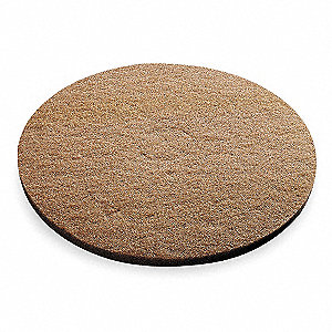 "20"" Tan Buffing Pad, Package Quantity 5"