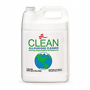 Unscented Cleaner Degreaser, 1 gal. Bottle