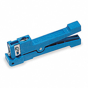 "Cable Stripper,6"" Overall Length,1/8"" to 7/32"" Capacity,RG58 Cable Type"