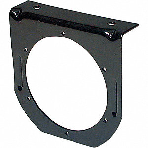 Mounting Bracket,Steel,Black