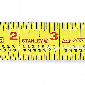 Stanley 25 Ft Steel Sae Tape Measure Yellow 5lp66 30