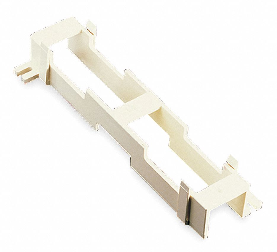White Standoff Bracket, 1 EA, For Use With All 25 and 50 Pair M Type Blocks