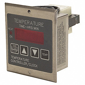 Temperature Controller, 240 VAC Input Voltage, Switch Function: SPDT
