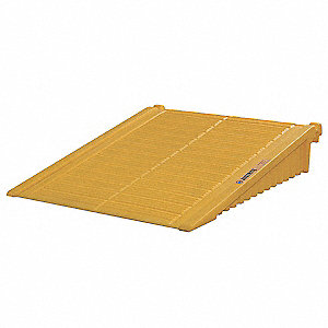 Drum Storage Unit Ramp,Yellow
