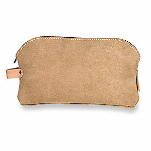 Canvas Tool Bag, General Purpose, Number of Pockets: 1, Brown