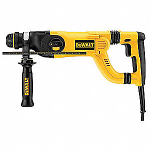 SDS Rotary Hammer, 8 Amps, 0 to 4300 Blows per Minute, 120 Voltage