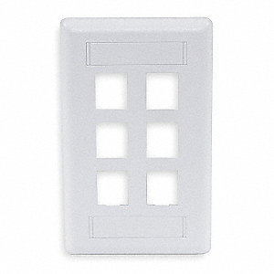 Wall Plate,6 Port