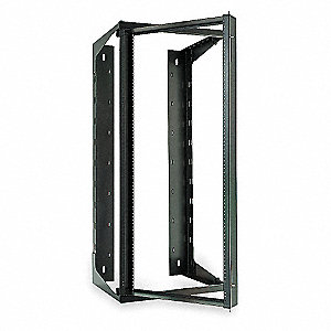 Hubbell Premise Wiring Swing Frame Wall Mount 12u Rack Units 70 Lbs Load Rating 24 0 In Height 19 0 In Width 5lv75 Hpwwmr24 Grainger