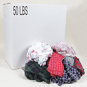 Assorted T-Shirt, Size: Varies, 50 lb. Box