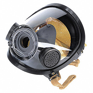 Full Face Respirator, 4 Pointwith Kevlar® Mesh Suspension, M