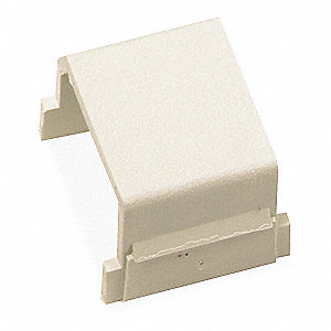 Blank Keystone Insert, Office White, Plastic, Series: iSTATION, Cable Type: None