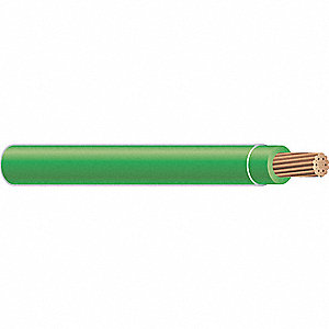 Building Wire,THHN,14 AWG,Green,50ft