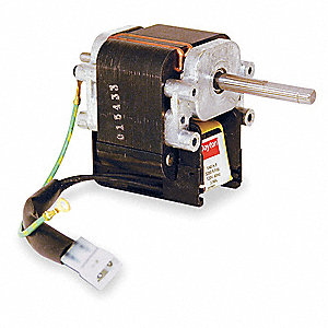 1/40 HP C-Frame Motor, Shaded Pole, 3200 RPM, 120 Voltage,Frame Non-Standard