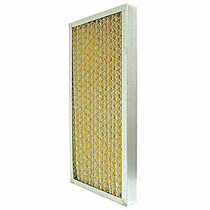 24x24x2 Synthetic Pleated Air Filter with MERV 7